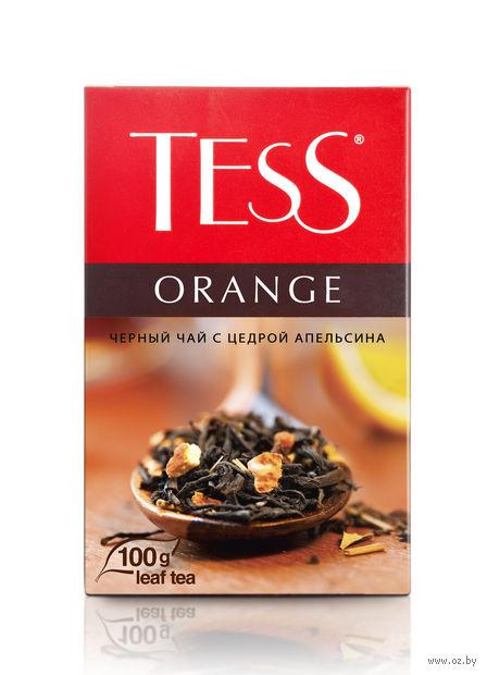 """Чай черный листовой """"Tess. Orange"""" (100 г) — фото, картинка"""