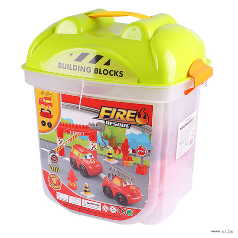 "Конструктор ""Fire Rescue"" (65 деталей; арт. DV-T-872) — фото, картинка"
