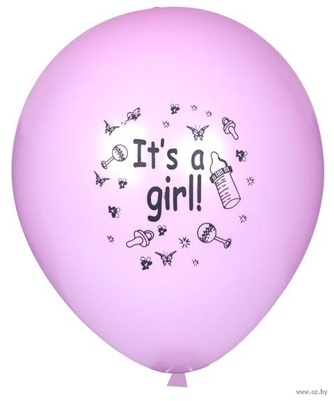 """Набор воздушных шаров """"It's a girl!"""" — фото, картинка"""