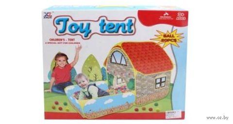 """Детская игровая палатка """"Загородный дом"""" — фото, картинка"""
