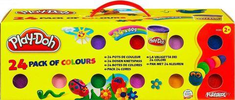 """Пластилин """"Play-Doh. 24 банки"""" — фото, картинка"""