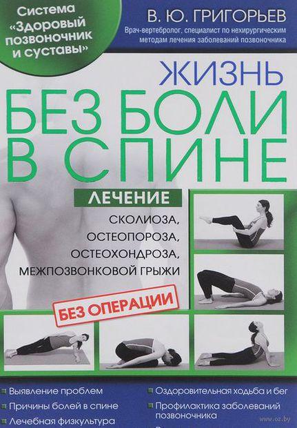 Жизнь без боли в спине. Лечение сколиоза, остеопороза, остеохондроза, межпозвонковой грыжи без операции. Валентин Григорьев