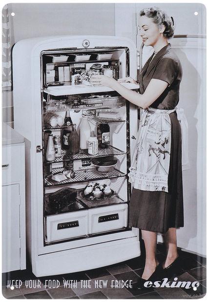 "Постер ""Холодильник"" (арт. 37433) — фото, картинка"