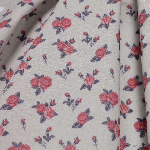 """Ткань """"Винтажные розы и кружево"""" №2 — фото, картинка"""