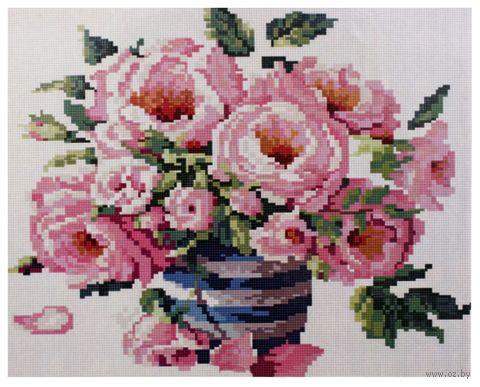 "Алмазная вышивка-мозаика ""Букет роз"" (400x500 мм) — фото, картинка"