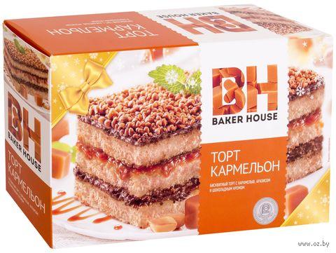 "Торт бисквитный ""Baker House. Кармельон"" (350 г) — фото, картинка"