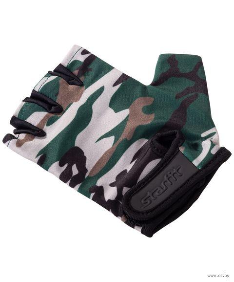Перчатки для фитнеса SU-126 (L; хаки) — фото, картинка