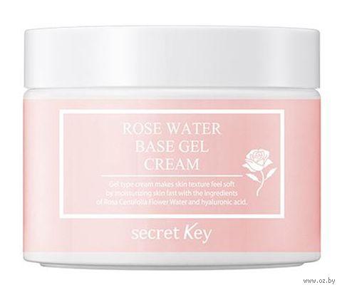 "Крем-гель для лица ""Rose Water Base Gel Cream"" (100 мл) — фото, картинка"