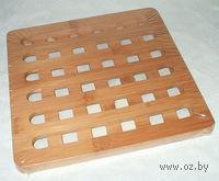 Подставка под горячее бамбуковая (20*20*1,2 см)