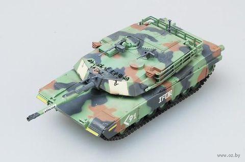 """Танк """"M1A1 Abrams 1990"""" (масштаб: 1/72) — фото, картинка"""