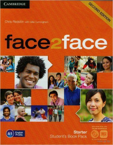 Face2Face. Starter. Student`s Book (+ DVD & Online Workbook) — фото, картинка