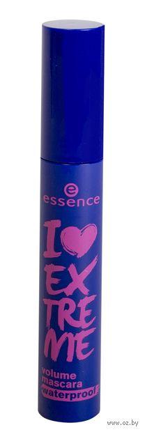"""Тушь для ресниц водостойкая """"I love extreme. Volume Mascara Waterproof"""" — фото, картинка"""