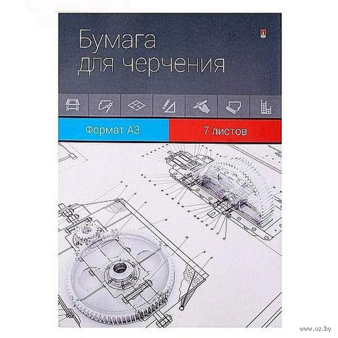Папка для черчения (А3; 7 листов) — фото, картинка