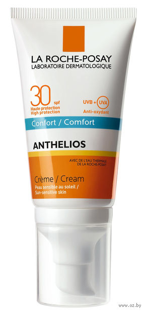 """Крем солнцезащитный для лица """"Anthelios"""" SPF 30 (50 мл) — фото, картинка"""