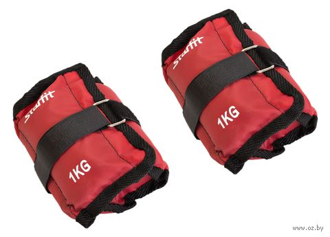 Утяжелители WT-401 (1 кг; красные) — фото, картинка