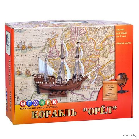 """Сборная модель """"Корабль. Орел"""" (масштаб: 1/100) — фото, картинка"""