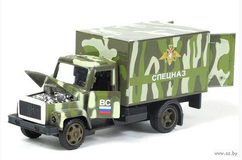 "Модель машины ""Газ 3307. Спецназ"" (масштаб: 1/43)"