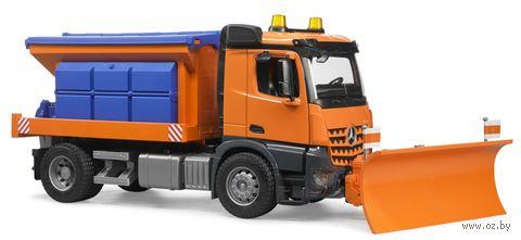 """Модель машины """"Снегоуборочная машина MB Arocs"""" (масштаб: 1/16)"""