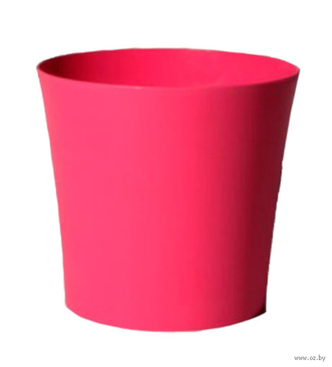 """Цветочный горшок """"Фиолек"""" (14 см; розовый) — фото, картинка"""