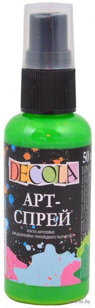 "Краска-спрей ""Decola"" (зеленая светлая; 50 мл) — фото, картинка"