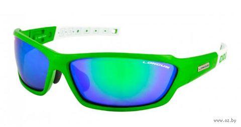 "Очки солнцезащитные ""Wind FF"" (зелёно-белые; арт. 392080) — фото, картинка"