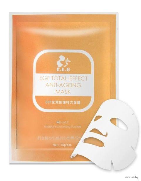 "Тканевая маска для лица ""Антивозрастная"" (25 г) — фото, картинка"
