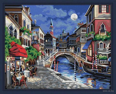 """Картина по номерам """"Ночная Венеция"""" (400х500 мм) — фото, картинка"""