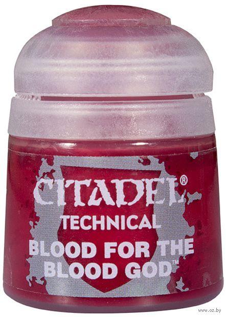 """Краска акриловая """"Citadel Technical"""" (blood for the blood god; 12 мл) — фото, картинка"""