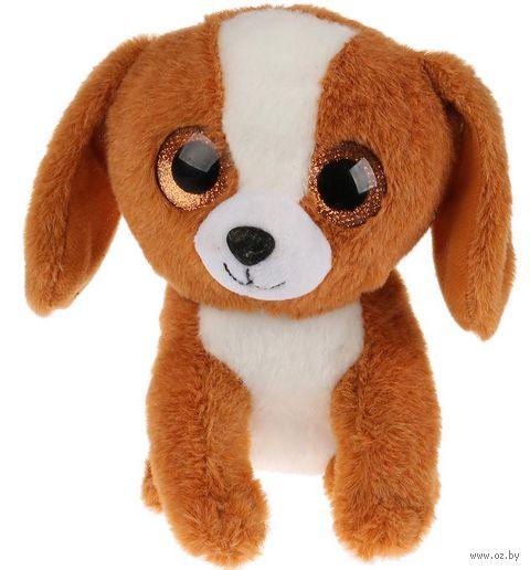 """Мягкая игрушка """"Собачка бежевая"""" (15 см) — фото, картинка"""