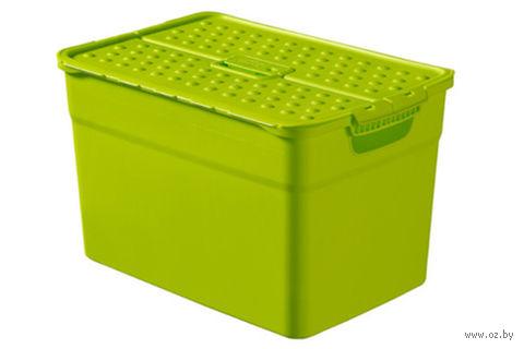 """Ящик для хранения """"Pixxel"""" (12 л; зеленый)"""