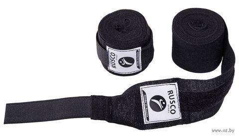 Бинт боксёрский (2,5 м; чёрный) — фото, картинка
