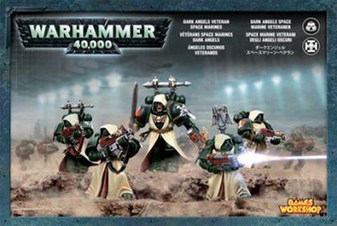 Warhammer 40.000. Dark Angels. Company Veterans Squad (44-09) — фото, картинка