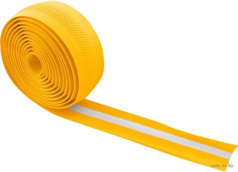Обмотка велосипедного руля (желтая; арт. 38034) — фото, картинка