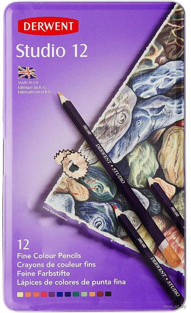 Цветные карандаши Studio (12 цветов)