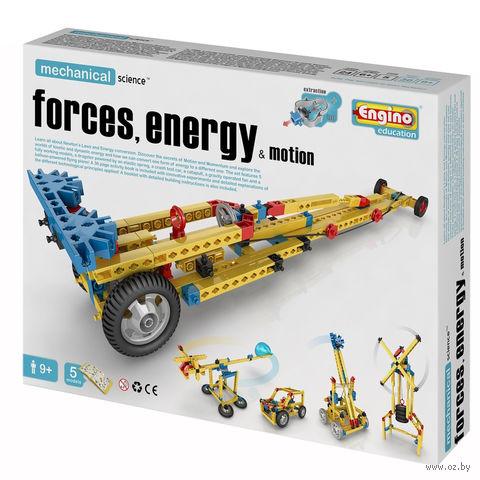 """Конструктор """"Mechanical Science. Сила, энергия и движение"""" (114 деталей)"""