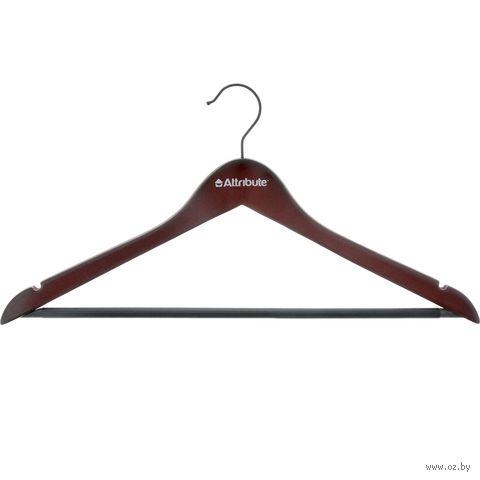 """Вешалка для одежды деревянная """"Redwood"""" (440 мм; арт. AHR221) — фото, картинка"""
