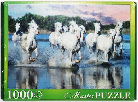 "Пазл ""Табун лошадей Камаргу"" (1000 элементов) — фото, картинка"