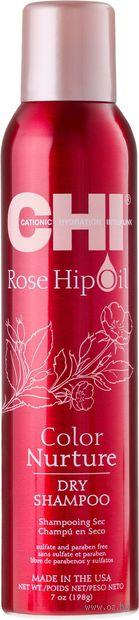 """Сухой шампунь """"Rose Hip Oil. Питание цвета"""" (198 г) — фото, картинка"""