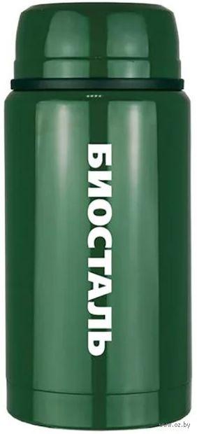 Термос Biostal 0,75 л (зелёный кедр; арт. NTS-750G) — фото, картинка