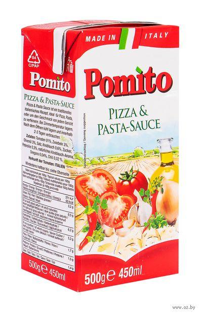 """Соус """"Pomito. Для пиццы и пасты"""" (500 г) — фото, картинка"""