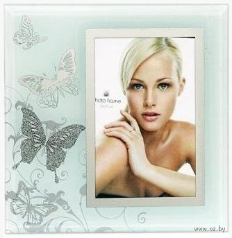 "Фоторамка стеклянная ""Butterfly Mix"" (10 см х 15 см)"