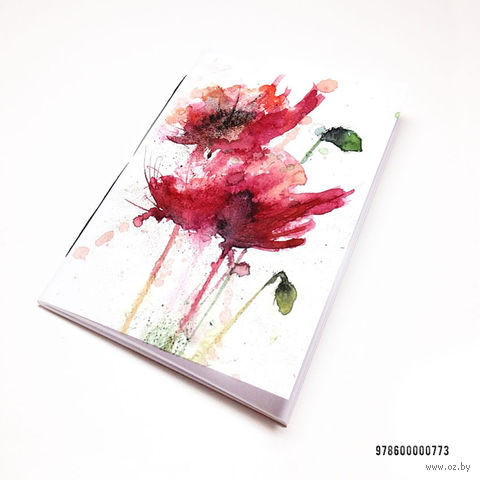 """Блокнот """"Маки"""" (А7; арт. 773) — фото, картинка"""
