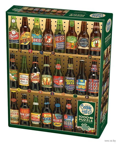 "Пазл ""Коллекция пива"" (1000 элементов) — фото, картинка"