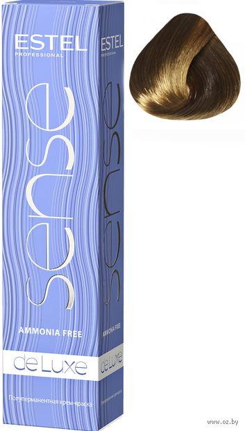 """Крем-краска для волос """"Sense De Luxe"""" тон: 7/0, русый — фото, картинка"""