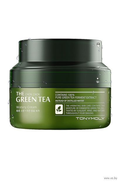 "Крем для лица ""The Chok Chok. Green Tea"" (60 мл) — фото, картинка"