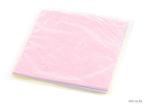 Набор тряпок для уборки текстильных (3 шт.; 380х380 мм) — фото, картинка