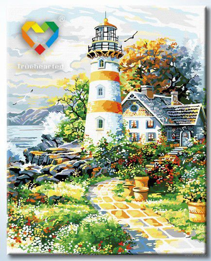 "Картина по номерам ""На страже океана"" (400x500 мм; арт. HB4050172)"
