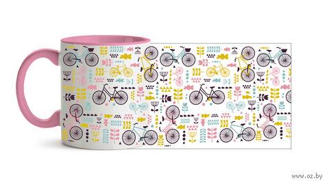 """Кружка """"Велосипеды"""" (480)"""