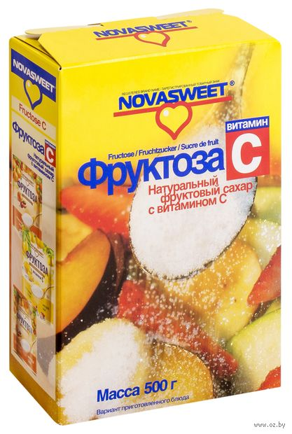 "Фруктоза ""Novasweet. Витамин C"" (500 г) — фото, картинка"