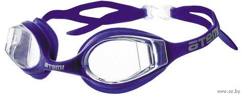 Очки для плавания (фиолетовые; арт. N8401) — фото, картинка
